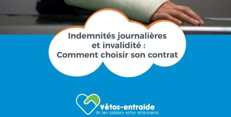 Document indemnités journalières et invalidité
