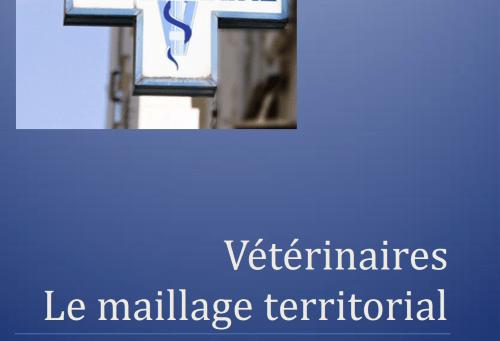Vétérinaires, le maillage territorial